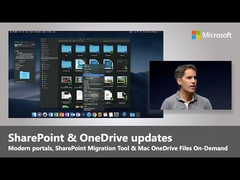 Microsoft SharePoint and OneDrive updates | Best of Microsoft Ignite 2018