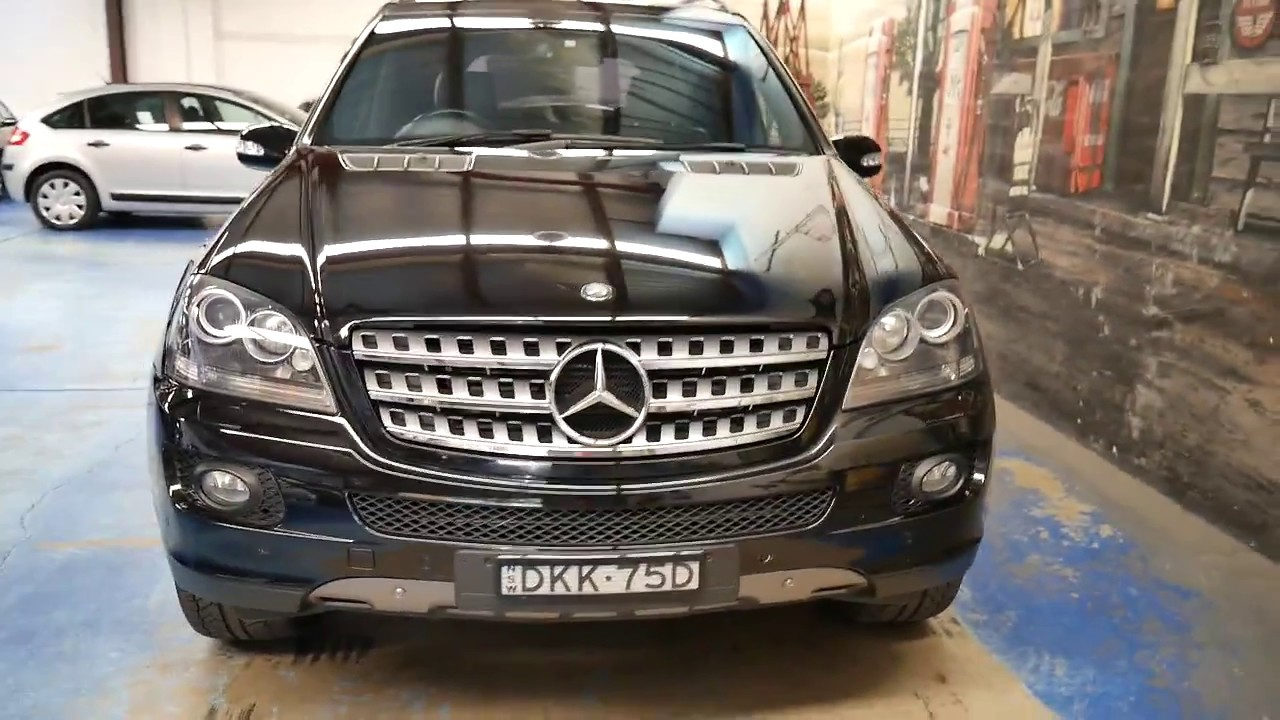 2008 Mercedes Benz Ml320 Cdi Edition 10