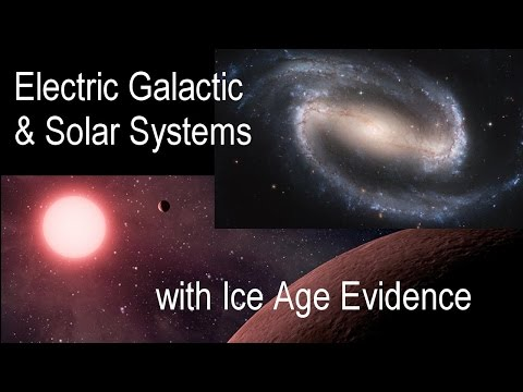Galactic and Solar Systems with Ice Age Evidence