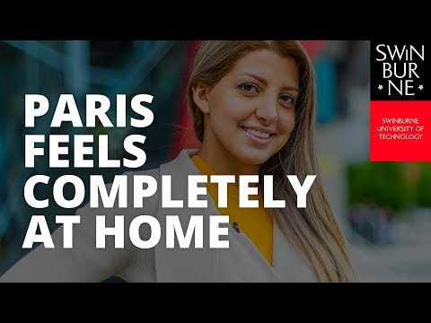 Paris feels completely at home