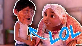 Τα πιο αστεία FACE SWAPS της Disney