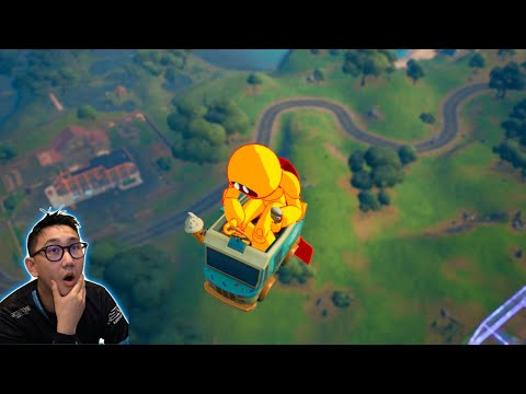 New way to float in Fortnite