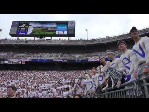 Joe Paterno tribute at Penn State football game