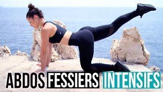 ABDOS FESSIERS INTENSIFS PEU DE SAUTS (Full training 25min)