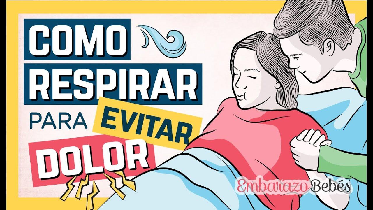 #PARTO: Cómo RESPIRAR para CONTROLAR EL DOLOR 😌🌬 Pujos durante el parto