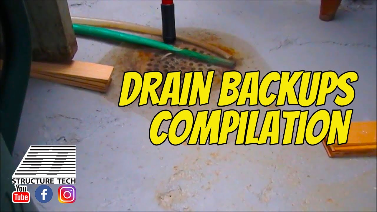 Why Does My Floor Drain Back Up