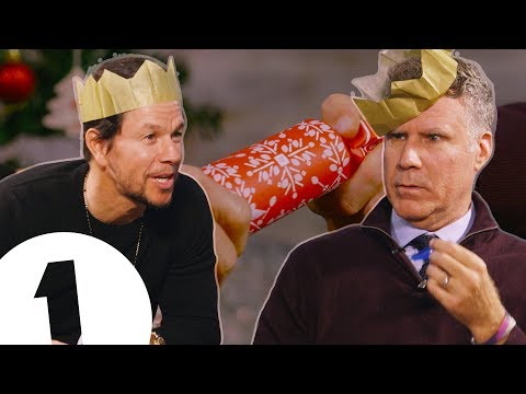 Will Ferrell & Mark Wahlberg Learn Christmas Crackers  CONTAINS ADULT HUMOUR!