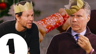 Will Ferrell & Mark Wahlberg Learn Christmas Crackers | CONTAINS ADULT HUMOUR!