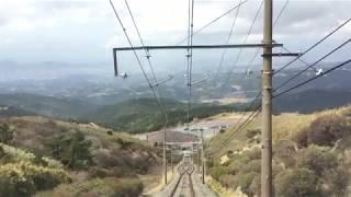 十国鋼索線(箱根十国峠ケーブルカー) 前面展望