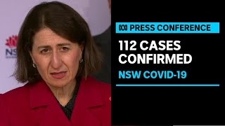 IN FULL: NSW records 112 locally acquired COVID-19 cases