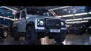 لاند روفر تطلق نسخة خاصة واحدة من ديفيندر إحتفلاً بصناعة 2 مليون سيارة منها
