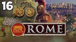 PIRATE INVASION! Total War: Rome II - Rise of the Republic - Rome Campaign #16