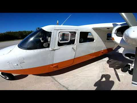 One day of work flying part 135 charters in the Bahamas. Britten Norman Islander.