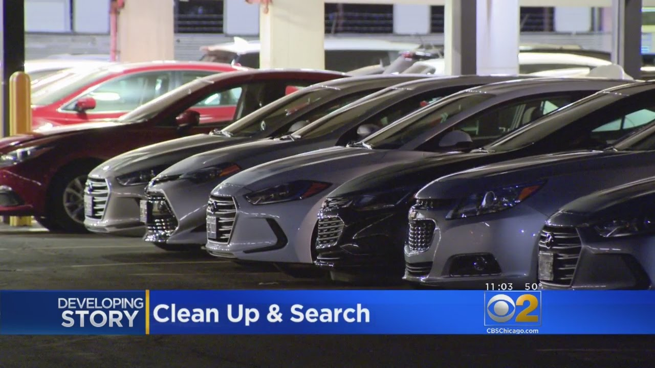 Cars Stolen From Hertz Rental Lot At O Hare Airport Youtube