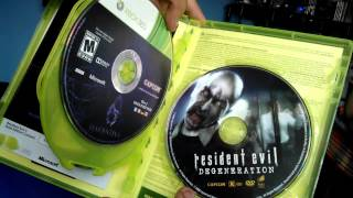 RESIDENT EVIL 6 archives  UNBOXING