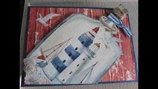 Álbum marinero scrapbooking
