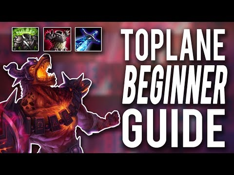 IT TAKES 5 TO KILL ME!! | 1V5 TOPLANE BEGINNER GUIDE - Trick2G