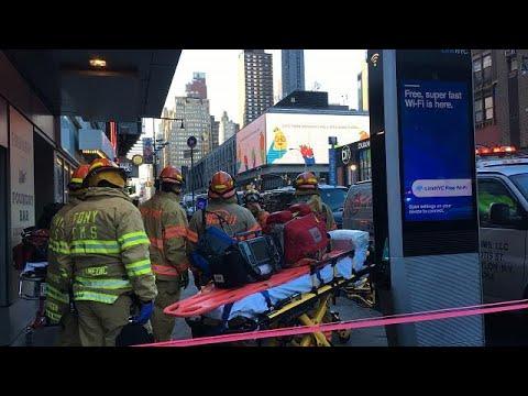 Man blows himself up at NYC bus terminal