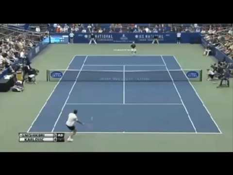 Kei Nishikori vs Ivo Karlovic - ATP 250 Memphis FINAL 2014 - Highlights