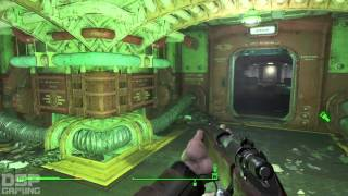 Fallout 4 playthrough pt35 - Finishing Vault 74 More Legendary Combat