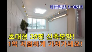 김포신축빌라 39평 구래역 도보10분+초대형테라스+한강…