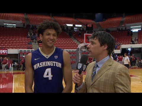 Men's Basketball: Matisse Thybulle on Washington's win over Washington State