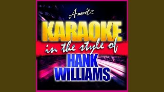 Take These Chains from My Heart (In the Style of Hank Williams) (Instrumental Version)