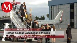 Restos de José José llegan a México