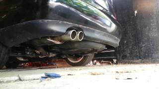 Audi SSCA exhaust