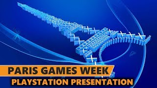 Playstation Paris Games Week Presentation with Rurikhan