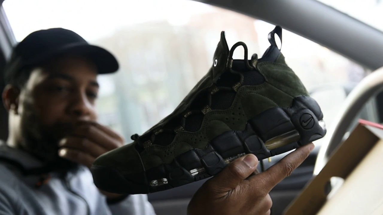 "reputable site 926da c5281 Nike Air More Money ""US Dollar"" (Dope or Nope) - YouTube"