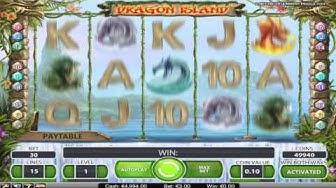 FREE Dragon Island slot machine game preview