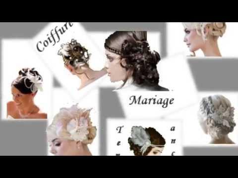 Coiffure Mariage Tendance 2015/2016 - YouTube