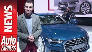 New Audi A6 unveiled to take on the BMW 5 Series and Mercedes E-Class