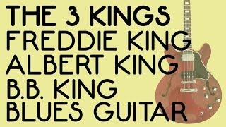 Blues Guitar Lesson I Albert King I B.B. King I Freddie King I Miles Schon I Tim Pierce