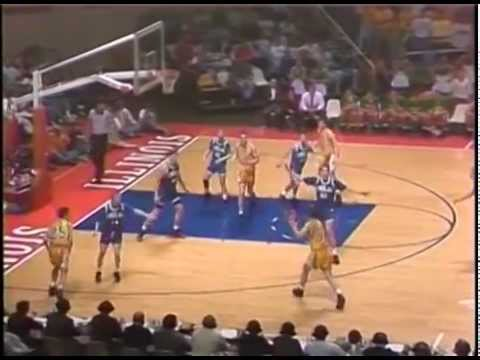 1992 IHSA Boys Basketball Class A Championship Game: Findlay vs. Normal (University)