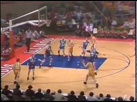 1992 IHSA Boys Basketball Class A Championship Game: Findlay Vs. Normal (University)