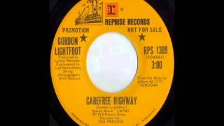Gordon Lightfoot - Carefree Highway (1974)