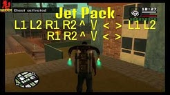 GTA San Andreas Ps2/Ps3/Ps4 Cheat Codes