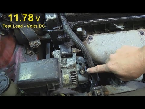 Charging System Operation and Testing (94 Toyota Celica)