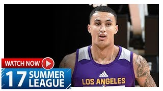 Kyle Kuzma Full Highlights vs Mavericks (2017.07.16) Summer League - 24 Pts, 5 Reb
