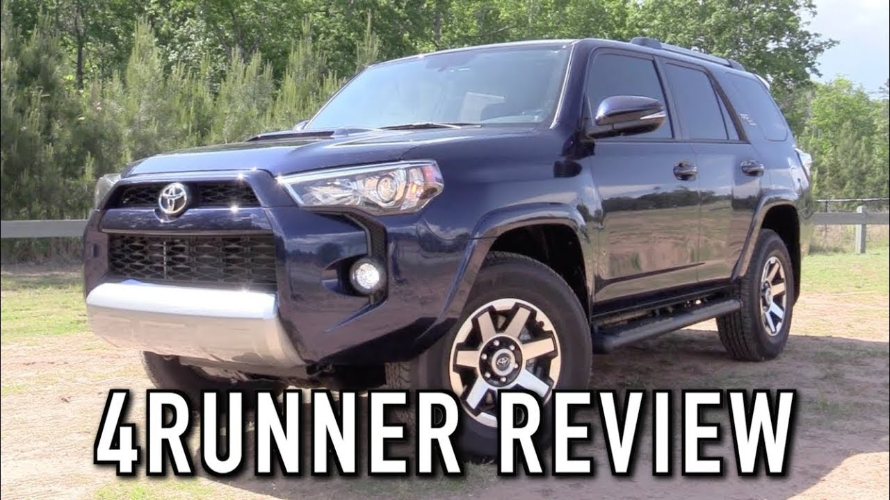 2018 Toyota 4runner Trd Off Road Start Up Test Drive In Depth Review