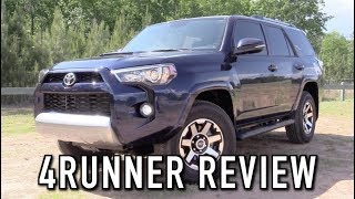 2018 Toyota 4Runner TRD Off Road: Start Up, Test Drive & In Depth Review