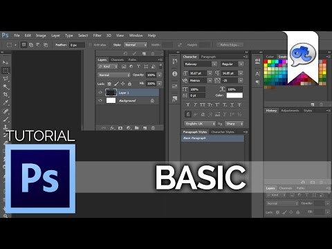 Adobe Photoshop | TUTORIAL #1 : BASIC (Bahasa Indonesia) + Eng Sub