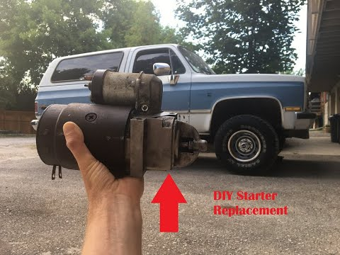 How to Replace A Starter 1973-87 GMC & Chevy