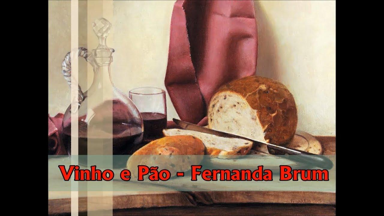 Vinho E Pao Fernanda Brum Playback E Legendado Youtube