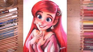Drawing Princess Ariel - Tнe Little Mermaid | drawholic