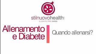 Allenamento e Diabete: Quando allenarsi?