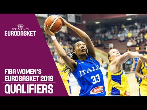 Sweden v Italy - Full Game - FIBA Women