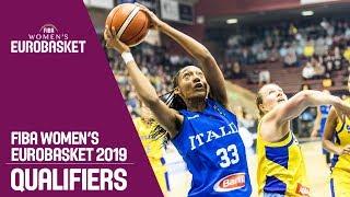 Sweden v Italy - Full Game - FIBA Women's EuroBasket 2019 Qualifiers